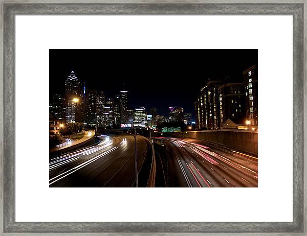 Midtown Framed Print