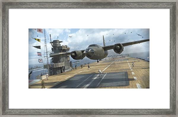 Midway Marauder Framed Print