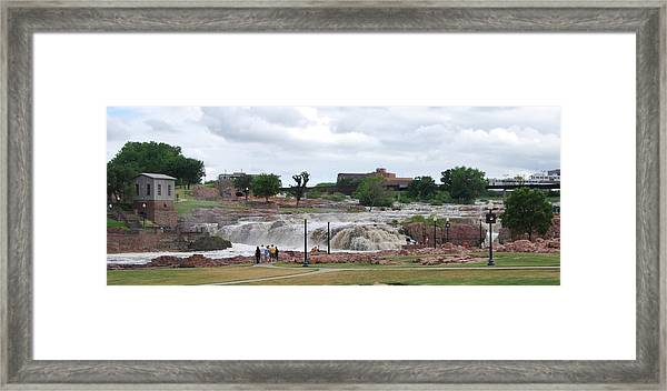 Mighty Sioux Falls Framed Print