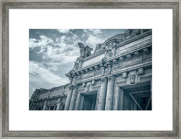 Milano Centrale II Framed Print