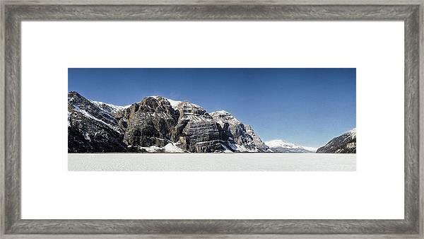 Mile High Cliffs Framed Print