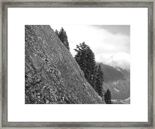 Mile High Framed Print by Mark Camp