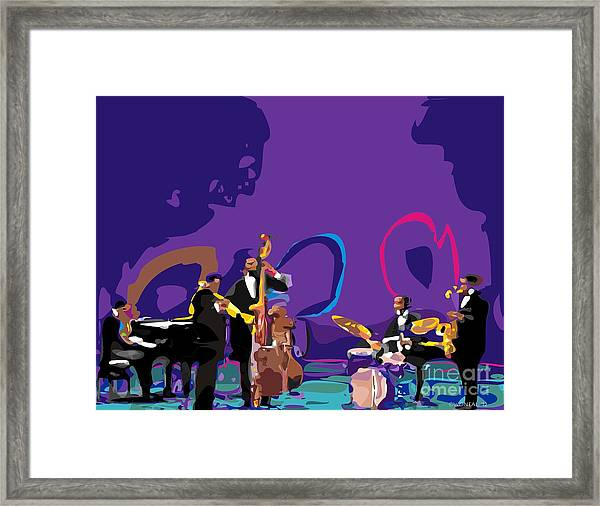 The Miles Davis Quintet Framed Print