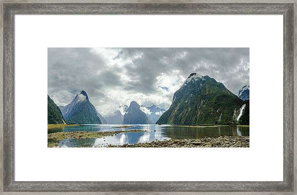 Milford Sound Panorama Framed Print