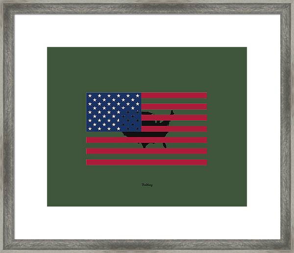 Military Man Framed Print
