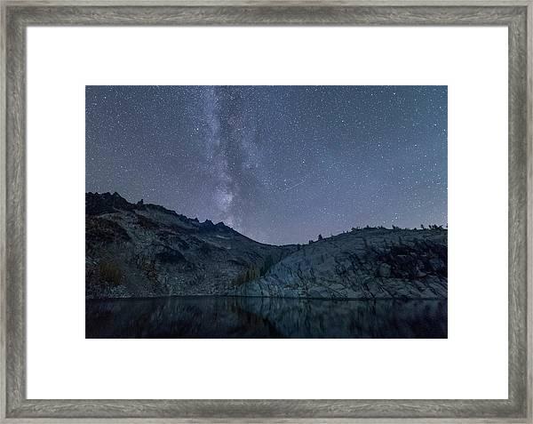 Milky Way At The Enchantments Framed Print