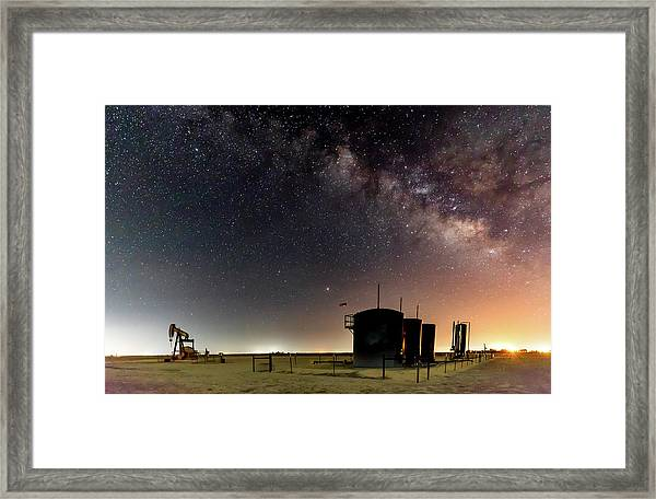 Milky Way Lease Framed Print