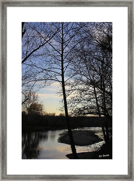 Mill Creek Memories Framed Print