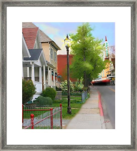 Mill Street Framed Print