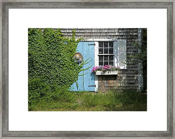Millway Scene In Barnstable Framed Print