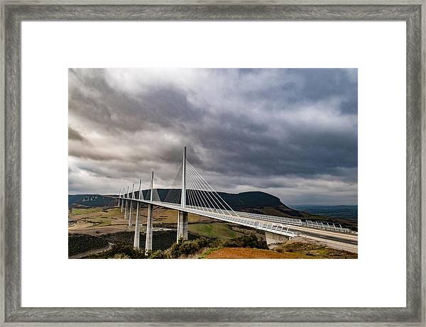 Millau Viaduct Framed Print