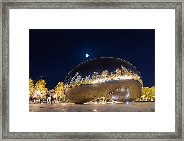 Millennium Park - Chicago Il Framed Print