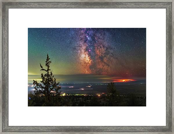 Milli Fire Framed Print