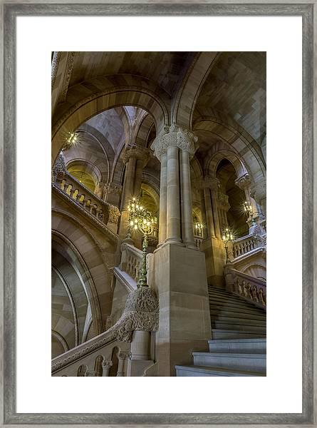 Million Dollar Staircase Framed Print