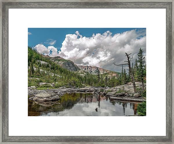 Mills Lake 5 Framed Print