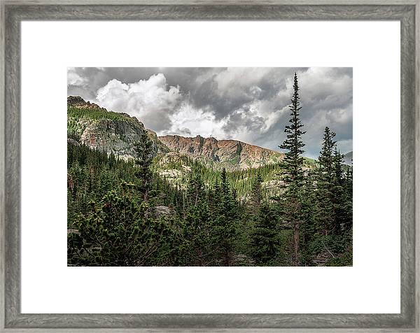 Mills Lake Hike Framed Print