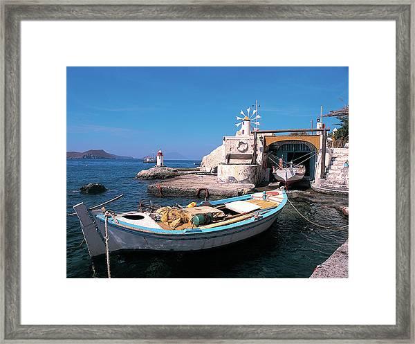 Milos Island 03 Framed Print