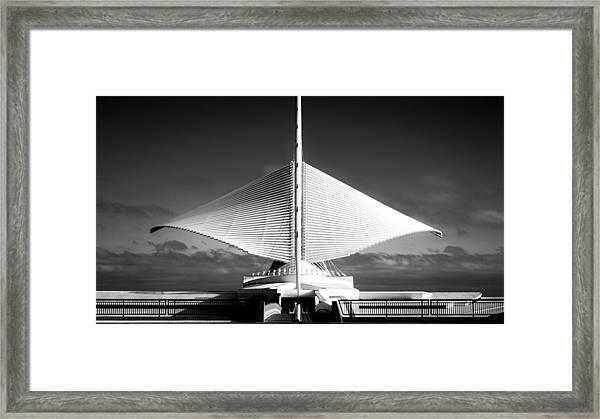 Milwaukee In Motion Framed Print
