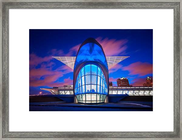 Milwaukee's Wings Framed Print