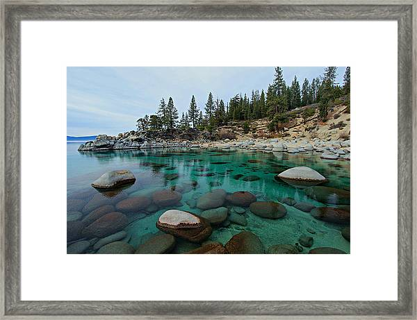 Mind Blowing Clarity Framed Print