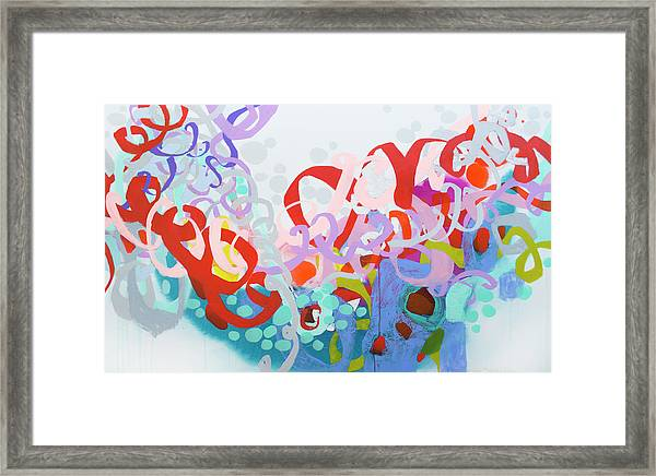 Mind Of Your Own Framed Print