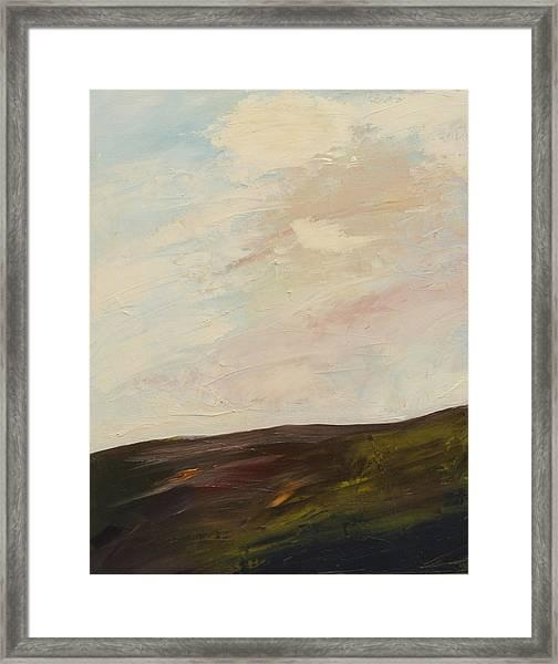Mindful Landscape Framed Print