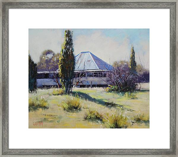 Miners Cottage Pyramul  Framed Print
