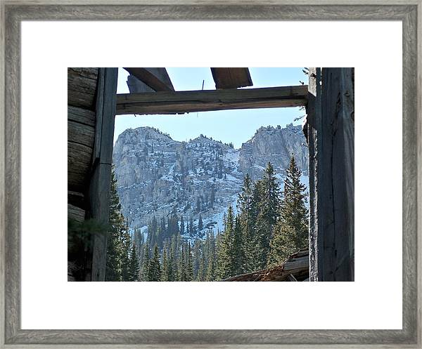 Miners Lost View Framed Print
