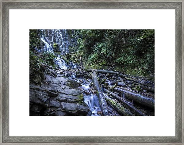 Mingo Falls One Framed Print