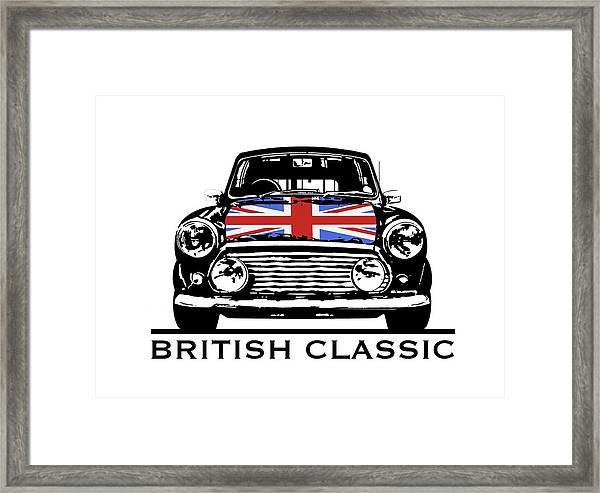 Mini British Classic Framed Print
