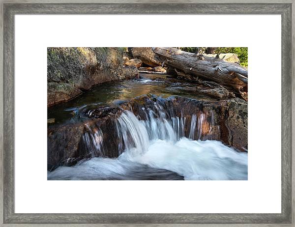 Mini-fall At Eagle Falls Framed Print