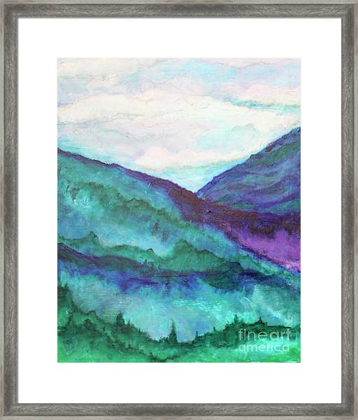 Mini Mountains Majesty Framed Print