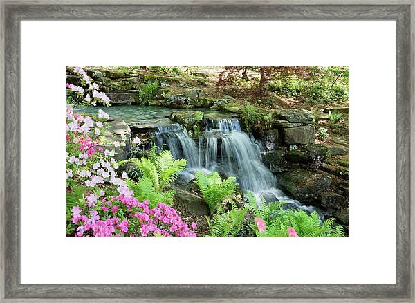 Mini Waterfall Framed Print