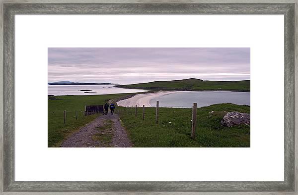 Minn, West Burra Framed Print by Steve Watson