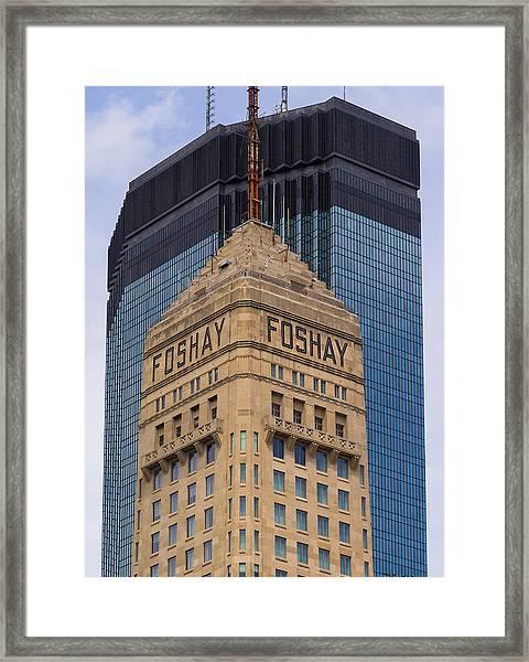 Minneapolis Icons Framed Print