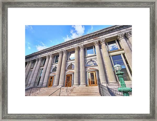 Minneapolis Post Office Building Framed Print