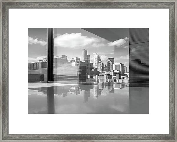 Minneapolis Skyline  Framed Print