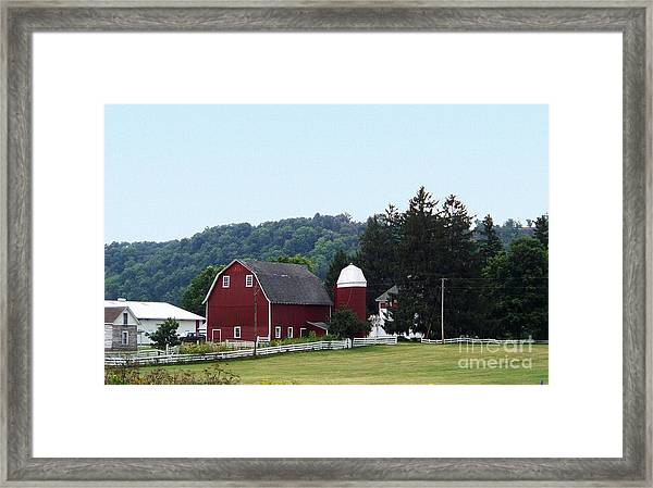Minnesota Barn Framed Print