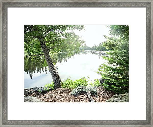 Minnesota Boundary Waters Framed Print