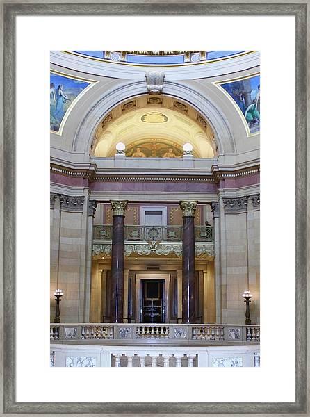 Minnesota House  Framed Print