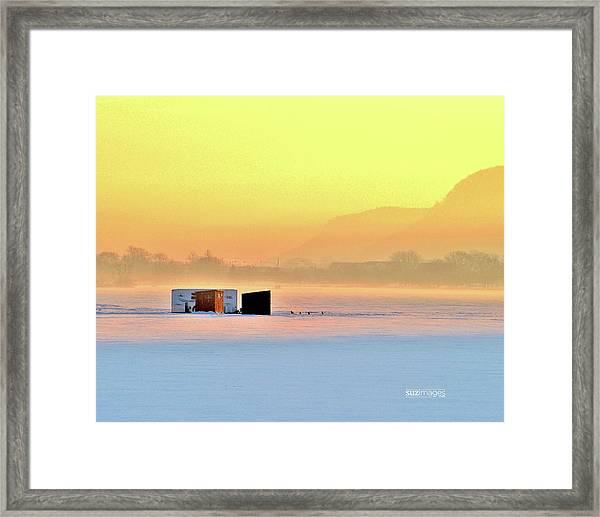 Minnesota Sunrise Framed Print