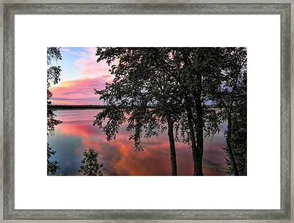 Minnesota Sunset Framed Print