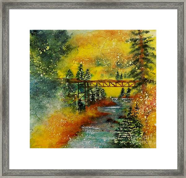 Minturn In Autumn Framed Print