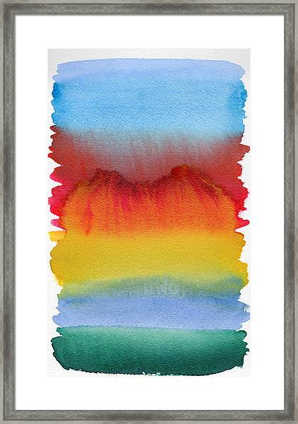 Miraggio Framed Print