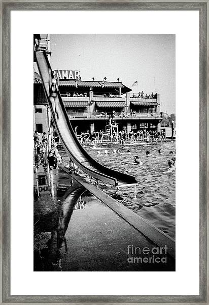Miramar Pool  Framed Print