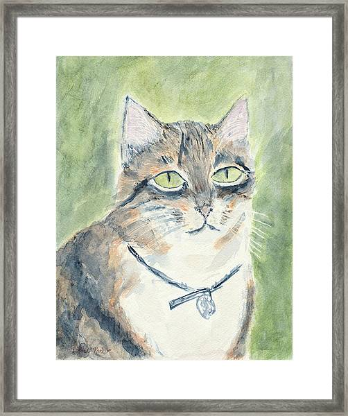 Framed Print featuring the painting Miranda by Kathryn Riley Parker