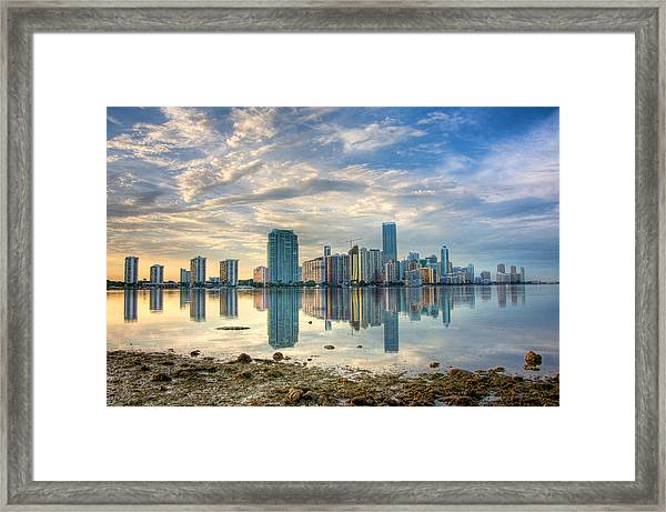 Mirror City Framed Print by William Wetmore
