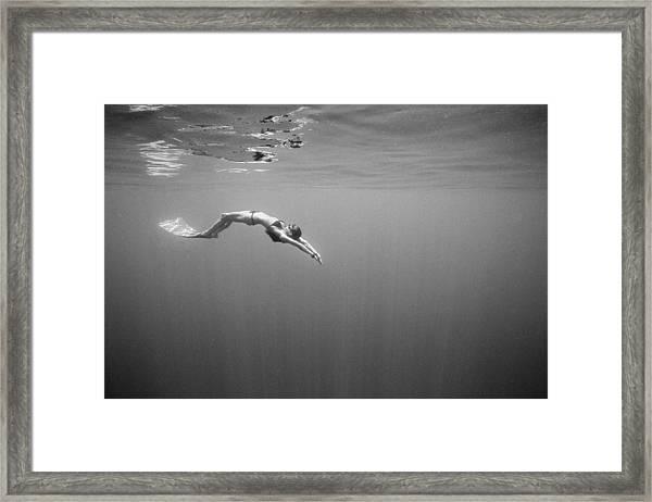Mirror, Mirror Framed Print by One ocean One breath