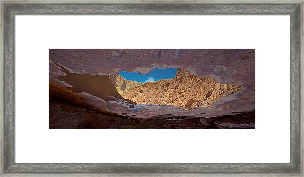 Framed Print featuring the photograph Mirror Pool by Britt Runyon