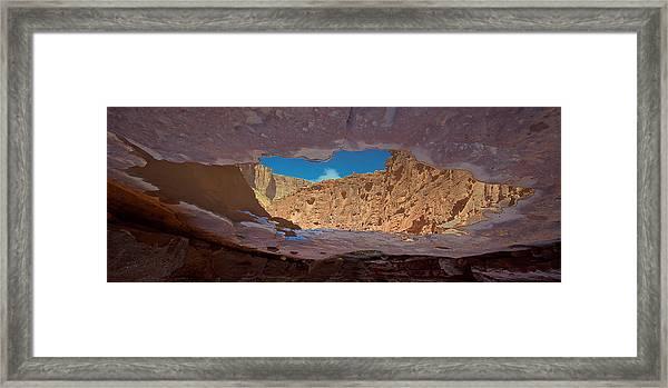 Mirror Pool Framed Print